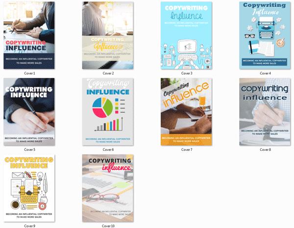 copywriting influence ebook mrr package