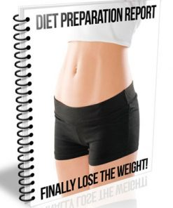 diet preparation plr report