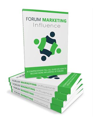 forum marketing influence ebook