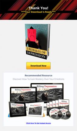 killing depression ebook mrr