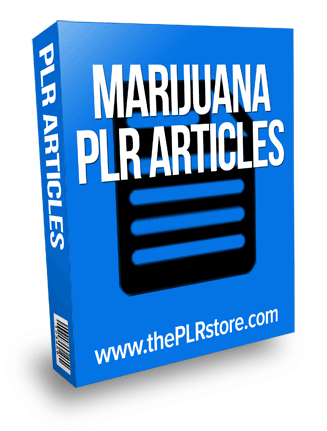 marijuana plr articles