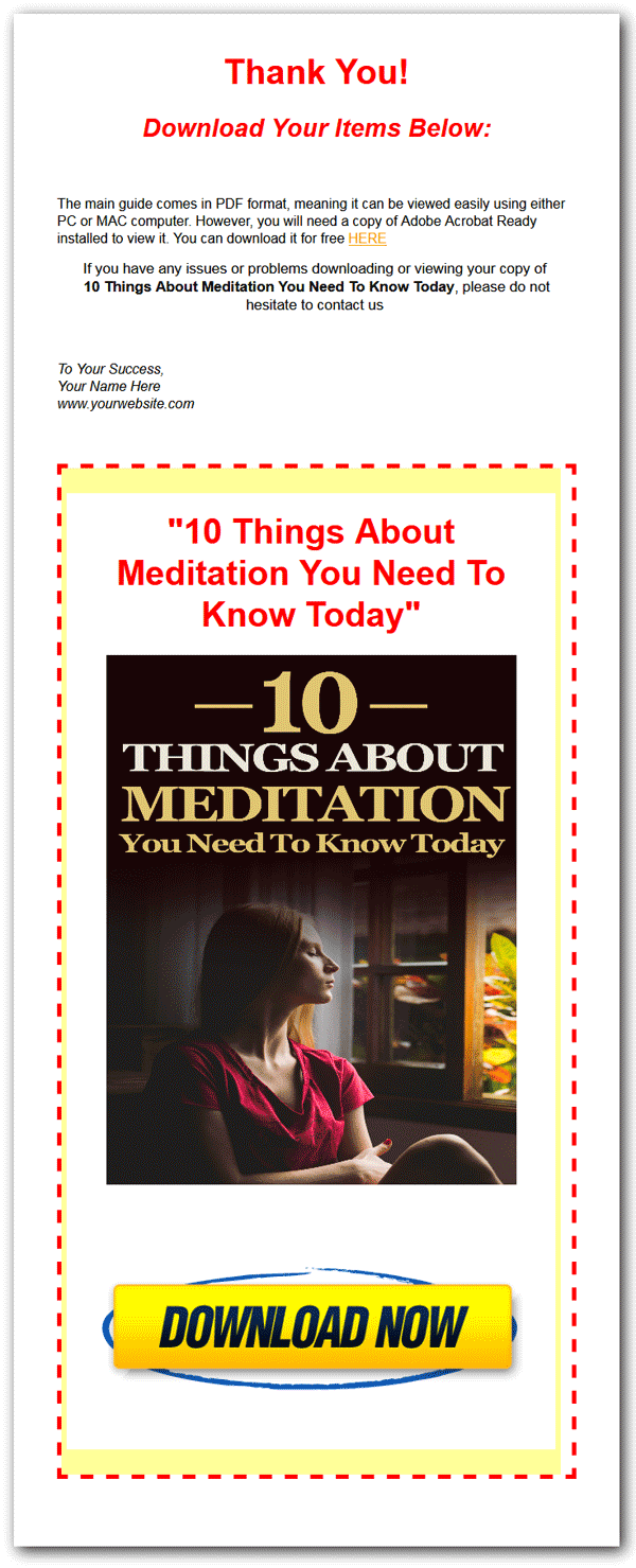 mindful moment meditation ebook