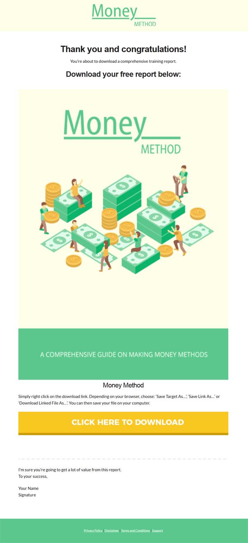 money methods plr report