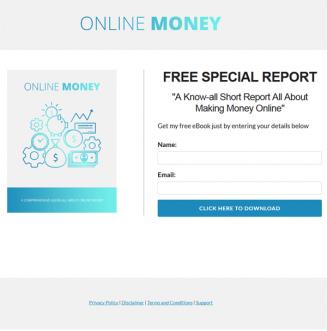 online money plr report