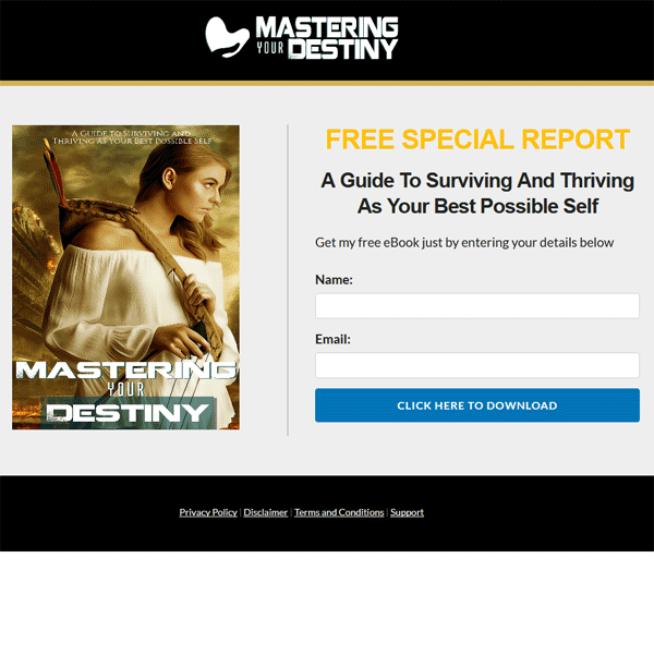 master your destiny ebook and videos