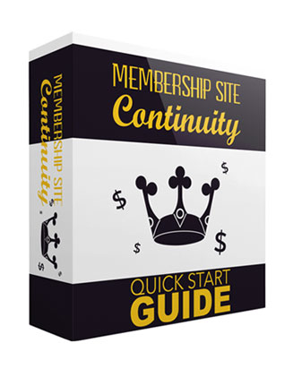 membership site continuity lead generation