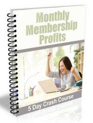 monthly membership profits plr autoresponder messages