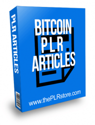 Bitcoin PLR Articles