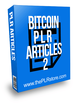 Bitcoin PLR Articles 2