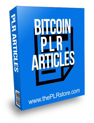 Bitcoin PLR Articles
