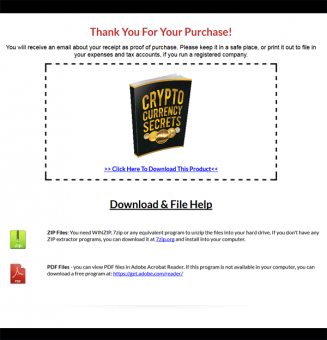 cryptocurrency secrets ebook and videos mrr