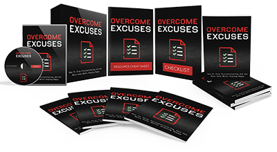 Overcome Excuses Ebook and Videos