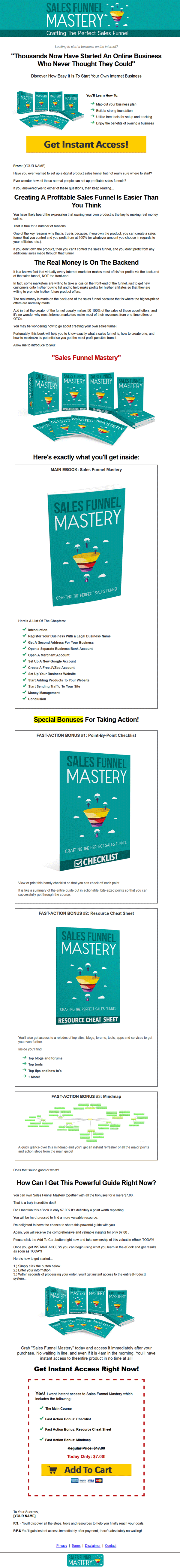 Sales Funnel Mastery Lead Generation MRR