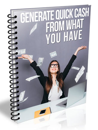 Generate Quick Cash PLR Report