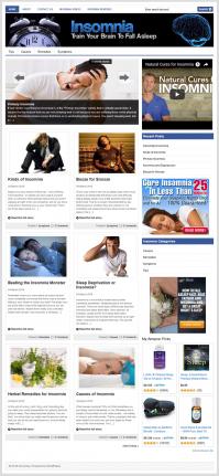 Insomnia PLR Website