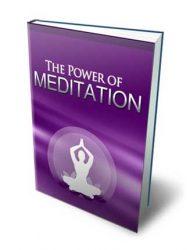 Power Of Meditation Ebook MRR