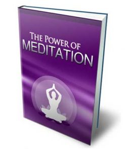 Power Of Meditation Ebook MRR