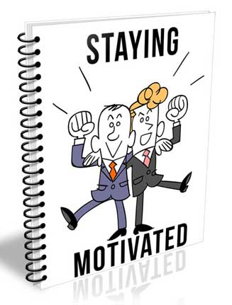 Staying Motivated PLR Report