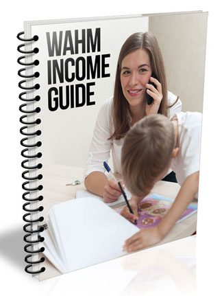 Work At Home Moms Income Guide PLR Report