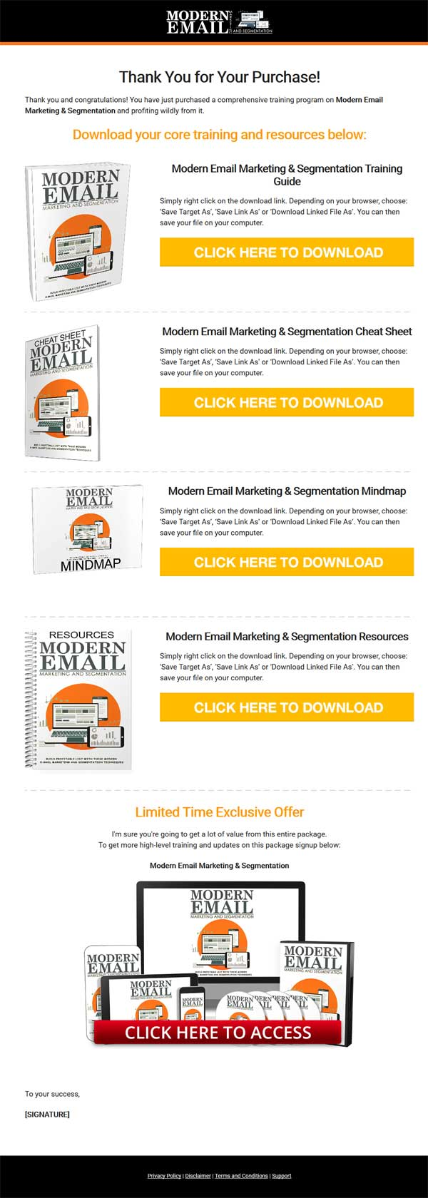 Modern Email Marketing Ebook And Videos with Master Resale Rights