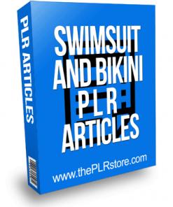 Swimsuit PLR Articles and Bikini PLR Articles