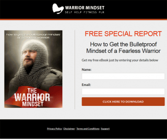 Warrior Mindset Ebook and Videos MRR