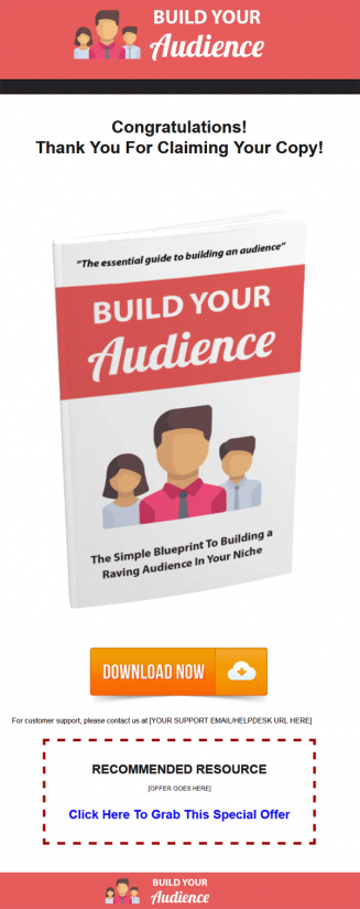 Build Your Online Audience Ebook MRR