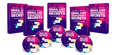 Email List Management PLR Ebook and Audio
