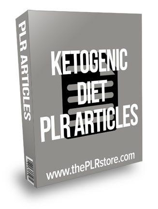 Ketogenic Diet PLR Articles