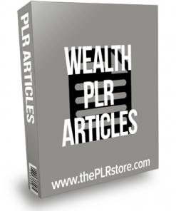 Wealth PLR Articles