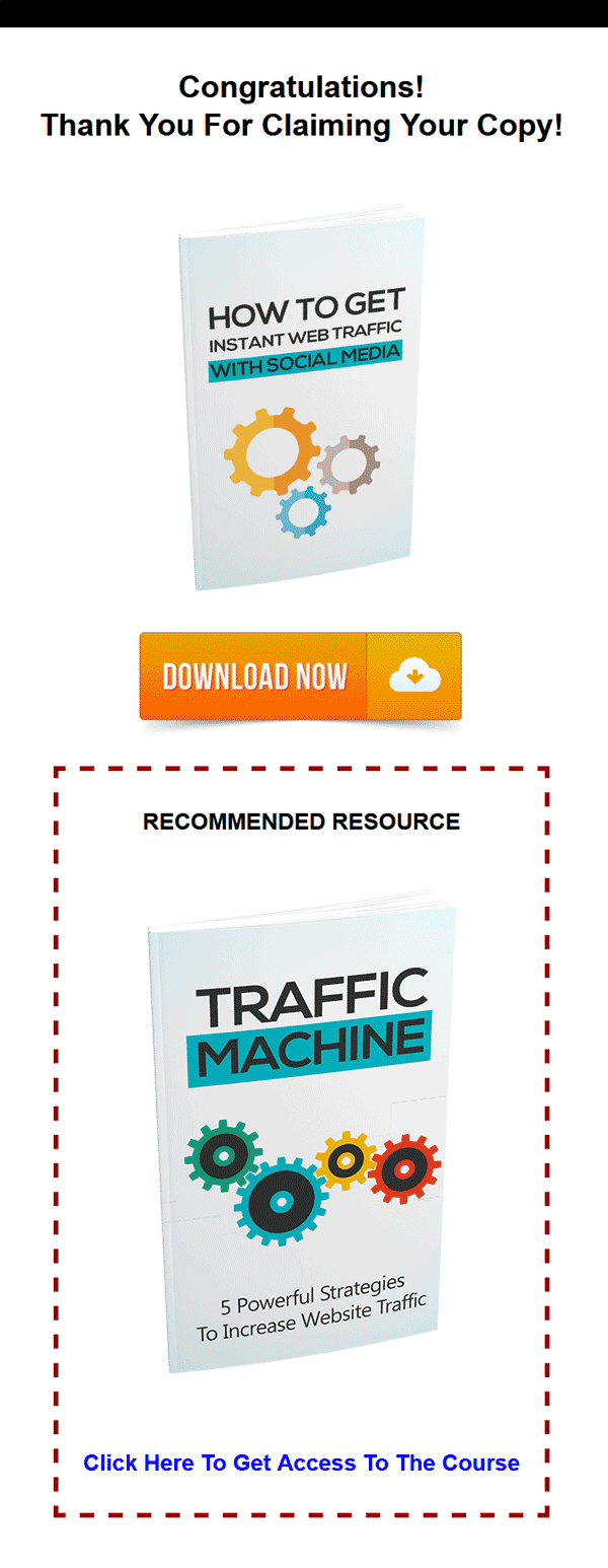 Website Traffic Machine Ebook with Master Resale Rights