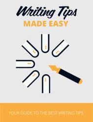 Writing Tips Made Easy Ebook with Master Resale Rights