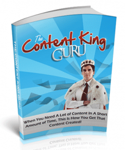 Content King Guru PLR Ebook