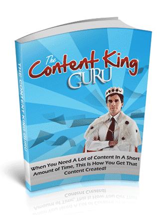 Content King Guru PLR Ebook