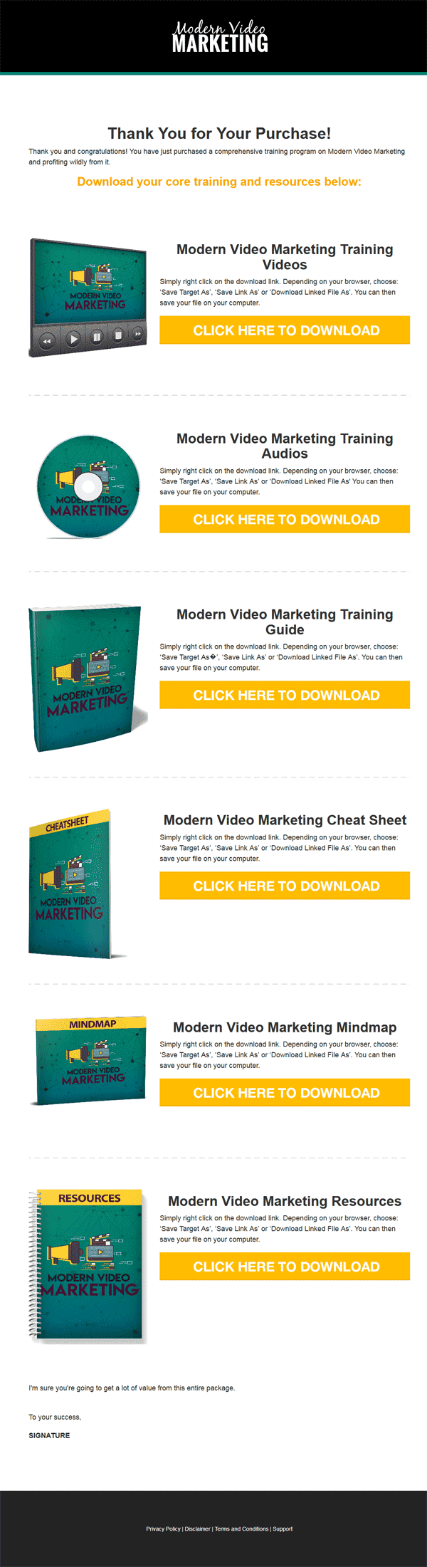 Modern Video Marketing Ebook and Videos MRR
