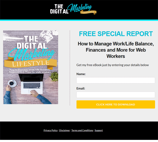 Digital Marketing Lifestyle Ebook and Videos MRR