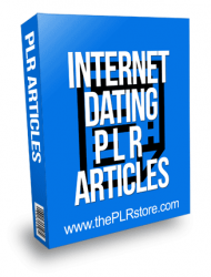 Internet Dating PLR Articles