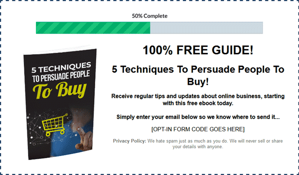 Mass Persuasion Secrets Ebook Package MRR