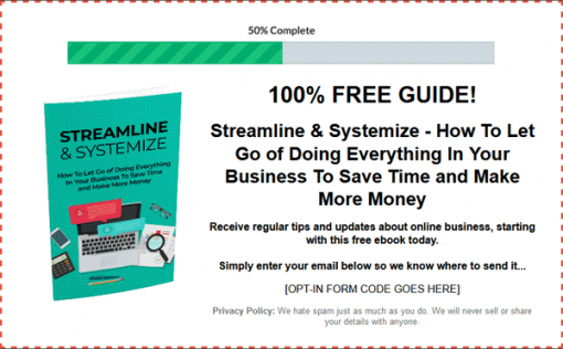 Online Business Systems Ebook and Videos MRR