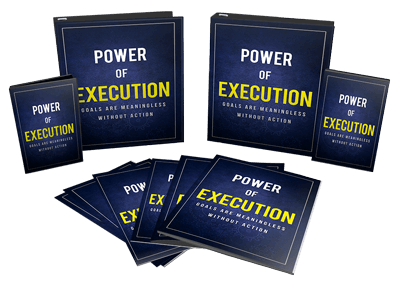 Power Of Execution Ebook and Videos MRR