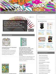 Adult Coloring PLR Amazon Store Website