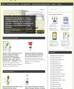 Anti-Aging PLR Amazon Store Website