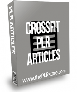 Crossfit PLR Articles