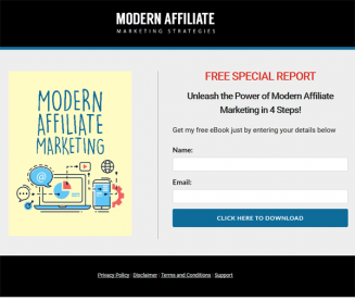 Modern Affiliate Marketing Ebook and Videos MRR