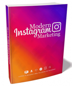 Modern Instagram Marketing Ebook and Videos MRR