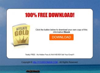 Affiliate Marketing Gold Ebook MRR