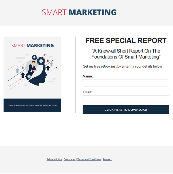 Smart Marketing PLR Report