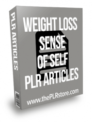 Weight Loss Sense of Self PLR Articles