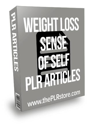 Weight Loss Sense of Self PLR Articles
