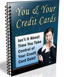 You and Your Credit Cards PLR Autoresponder Messages